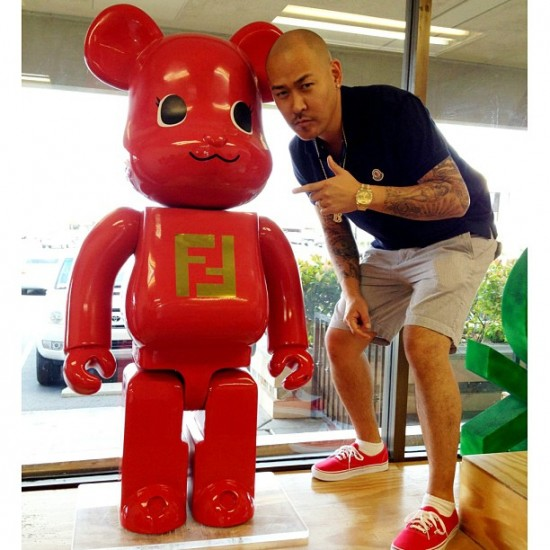 @benballer and a Be@rbrick that probably cost more than your car (in Vegas)