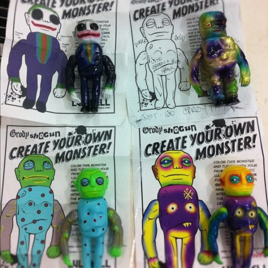 Create Your Own Monsters by You and Grody Shogun! Now arriving @luluamy's!