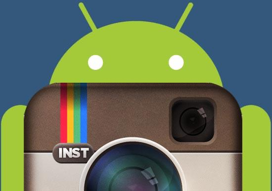 Instagram x Android banner