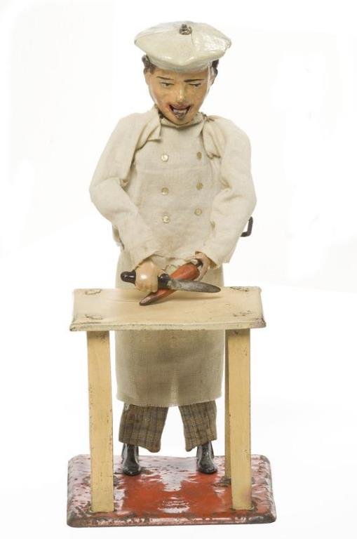 Little Chef toy art from 1904