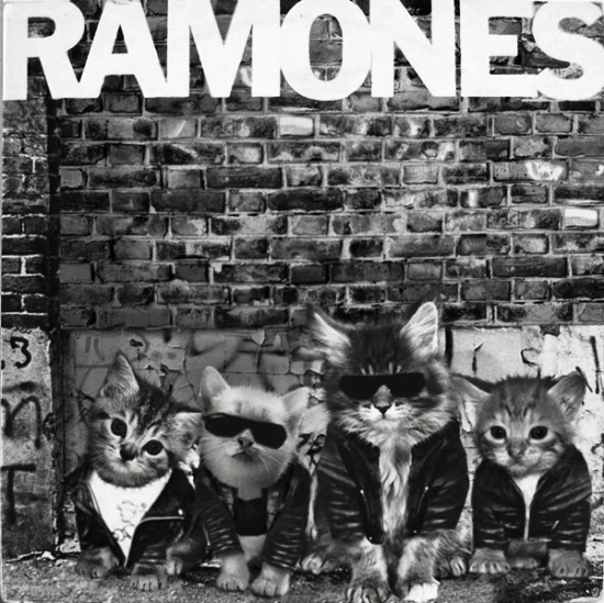 Kittenized Album Cover: The Ramones