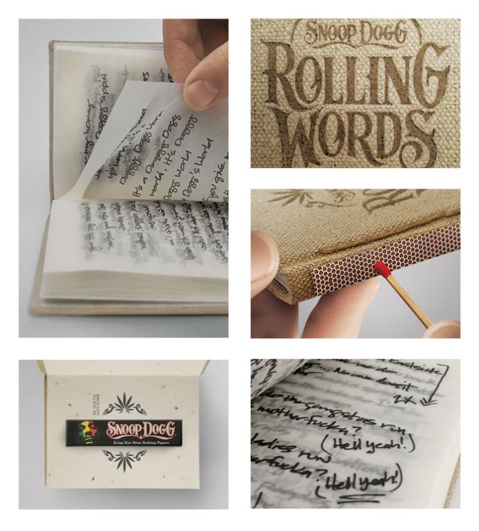 Snoop Dogg's Smokable Book of Rolling Papers