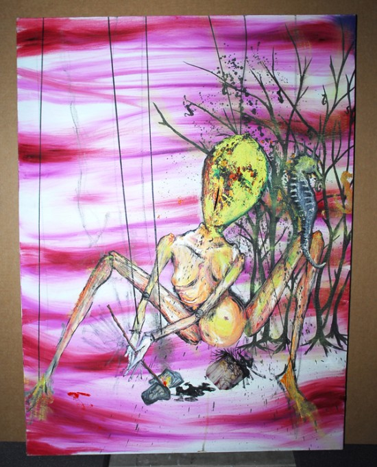Original art by Kurt Cobain