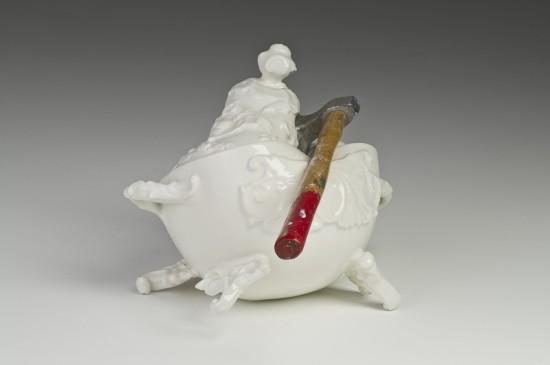 macabre porcelain art