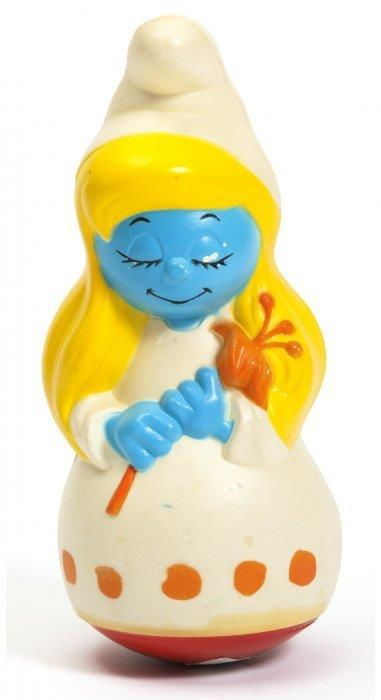 Smurfette Weeble 1985