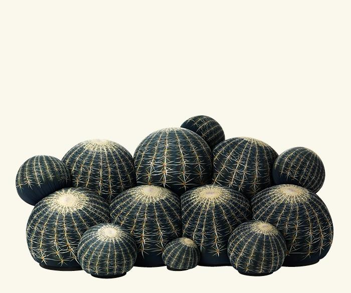 Prickly vs puffy poufs the cactus couch marshmallow sofa for Canape cactus sofa