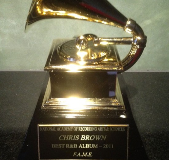 Chris Brown Grammy 2011
