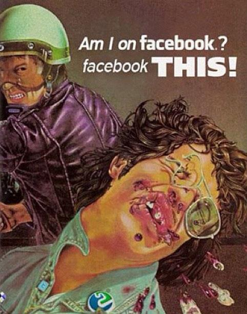 AM I ON FACEBOOK? FACEBOOK THIS!