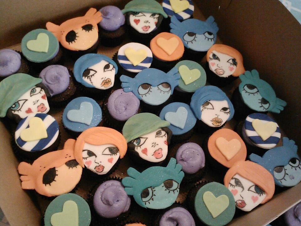 Fafi Cupcakes by Little Sweeties Bakery