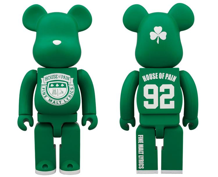 House of Pain 400% Bearbrick