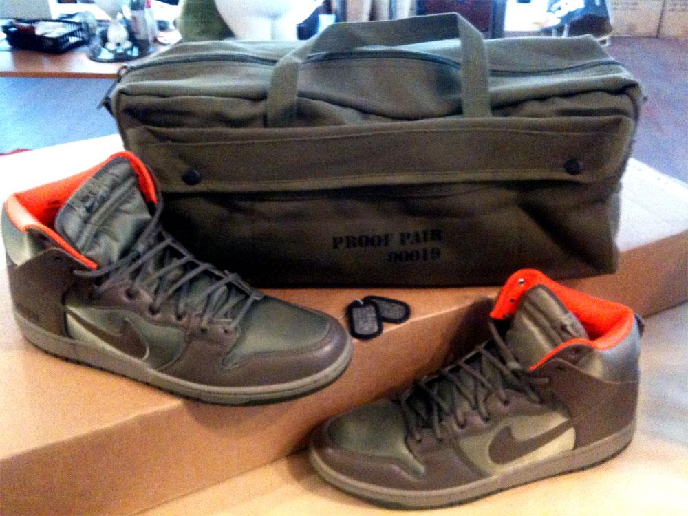 huge discount 571a9 f8a3d Frank Kozik Nike sneakers