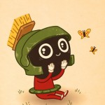 Pop Culture Art: Marvin the Martian
