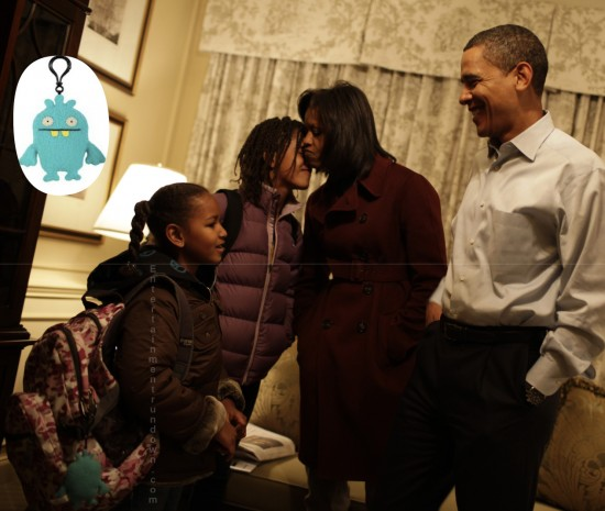 The Obamas inspiring the Kim Kardashian Uglydoll Purchase
