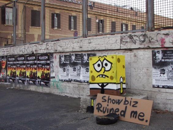 Spongebob street alteration by PaoPao