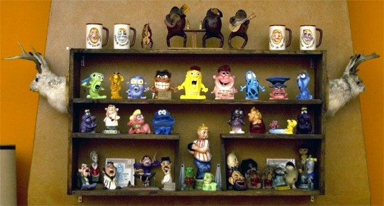 Psycho Ceramics, collection of San Francisco-based artist, Dirty Donny.