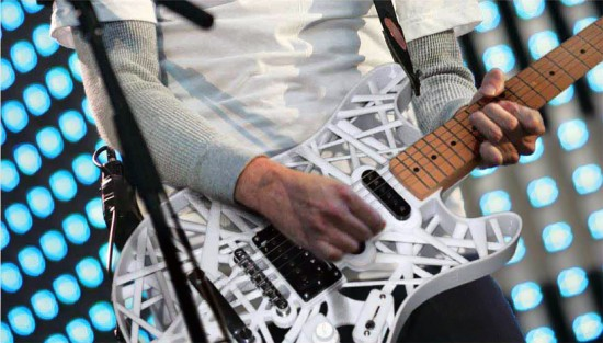 RP 3d-printed guitars