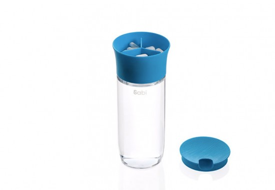 Sabi pill and water combo case