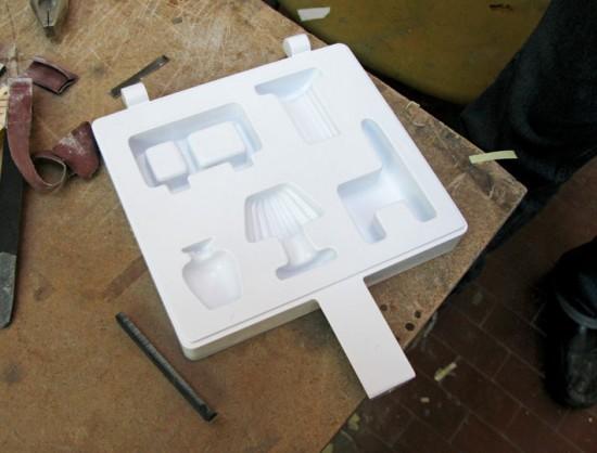 Sapore dei Mobili: work in progress, 3D-printed mold