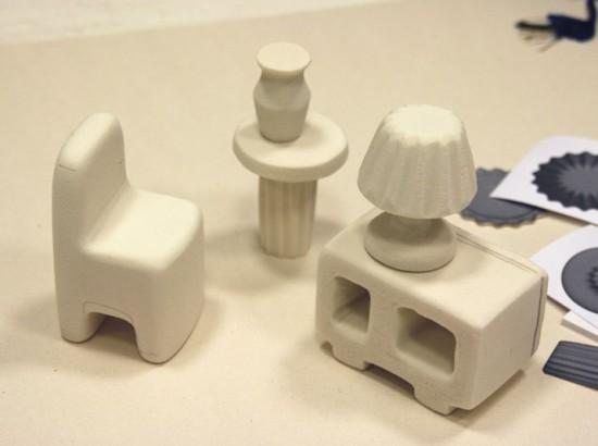 Sapore dei Mobili: work in progress, polyurethane foam