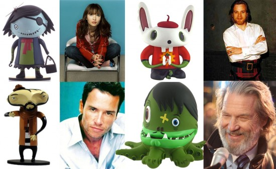 Scarygirl movie imaginary live action cast