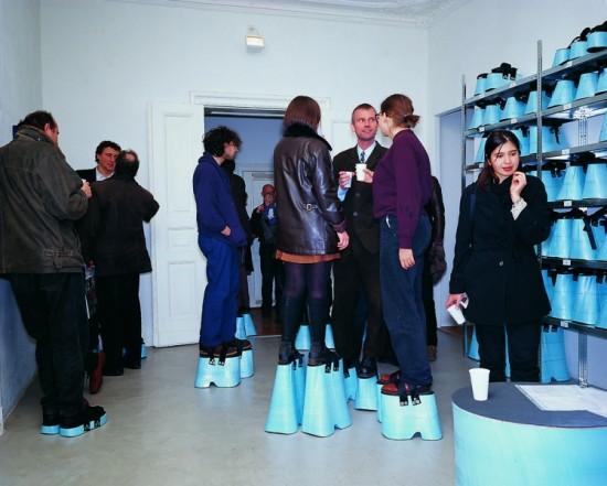 Hans Hemmert Stands Up to Elevator Shoes