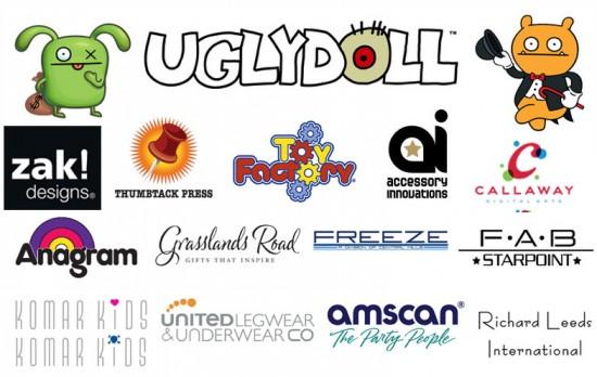 Uglydoll Brand Licensing Partnerships for 2012