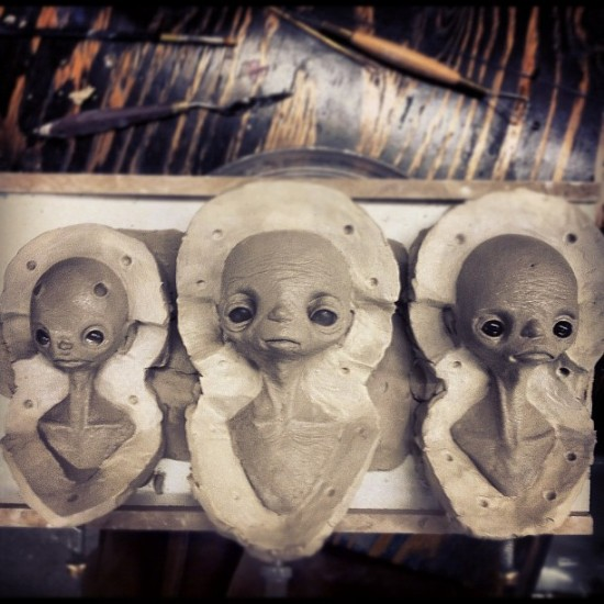 New molds in progress from @jakewaldron.