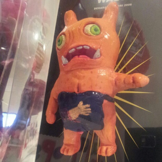 Not all Uglydoll customs are alike: @Uglydoll likes this Wage by Dehara from Japan.