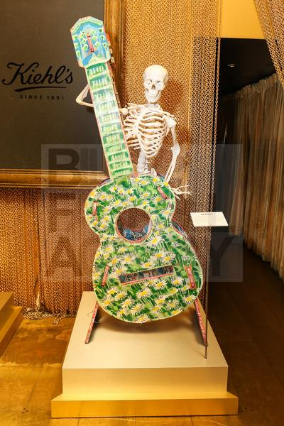 Kiehl's Mr. Bones customized skeletons by David Chang and Steve Keene