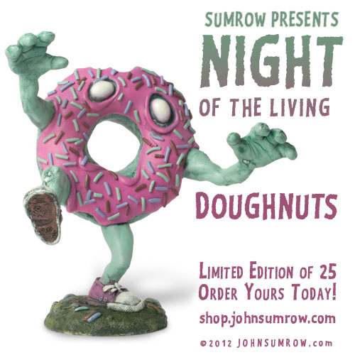 Zombie Donuts by John Sumrow