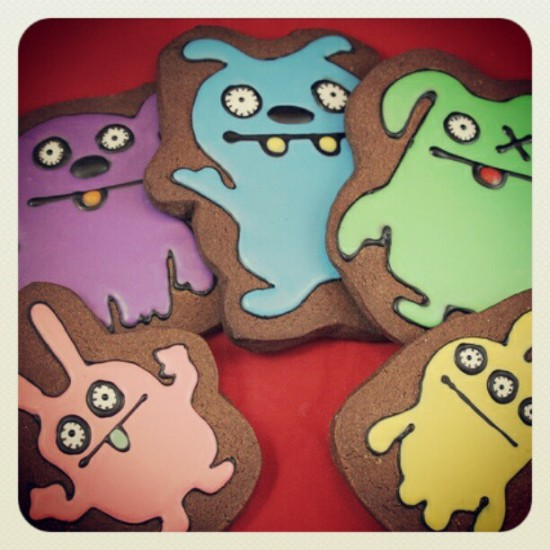Character cookies by @uglydoll