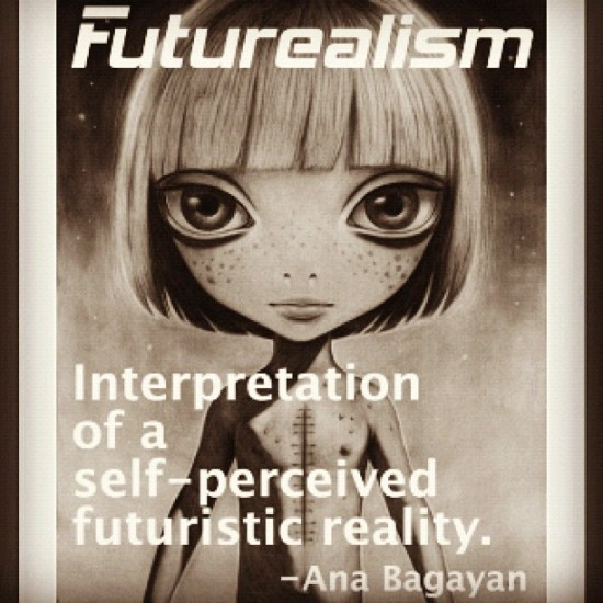 Futurealism by @anabagayan