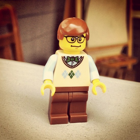 Dead-on Doppelganger LEGO of @mrscotttolleson