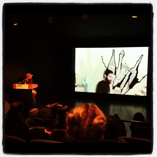 Lecture by @mrjeremyfish at San Francisco Art Institute