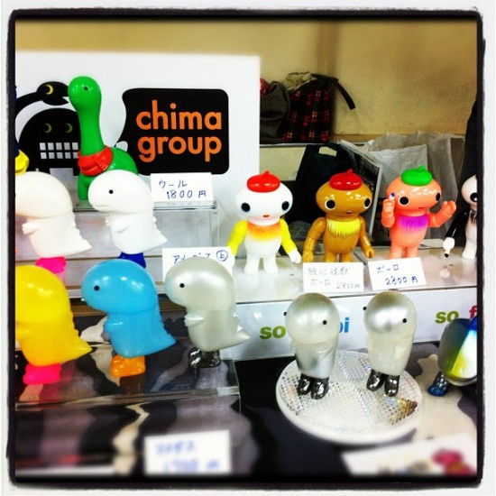 @chimagroup toys in Japan