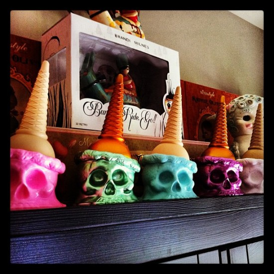 Sweet @bryanbrutherford Ice Scream lineup in the collection of @masao626