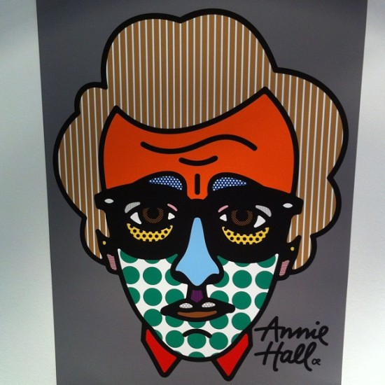 Woody Allen by Craig Redman aka Darcel for @colettestore in Paris.