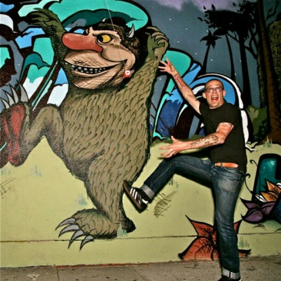 A sad week for Wild Things. R.I.P. Maurice Sendak. Photo of @unklesteve by @pedroflores.