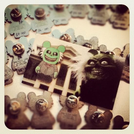 DIY pins by @evilos