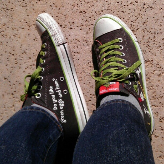 @garyham rocking rad Green Eggs and Ham kicks in Phoenix.