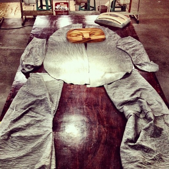 Giant Rice Baby pre-sewn by @spencerblamo in Bali.
