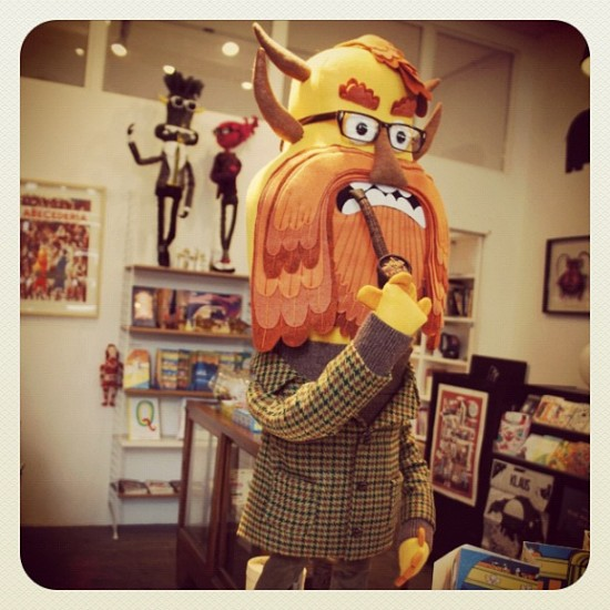 Hector Bunford. Just amazing. Stitch kitsch by @feltmistress in the UK.