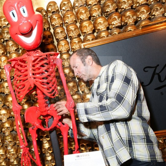 Kiehl's Mr. Bones customized by Kenny Scharf