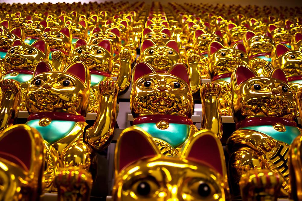 Boris Petrovsky's Army of Lucky Cats