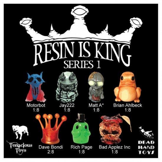 Resin is King Series 1 Resin Toys