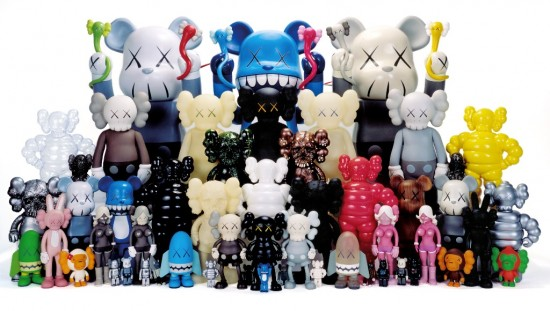 Selim Varol's KAWS collection
