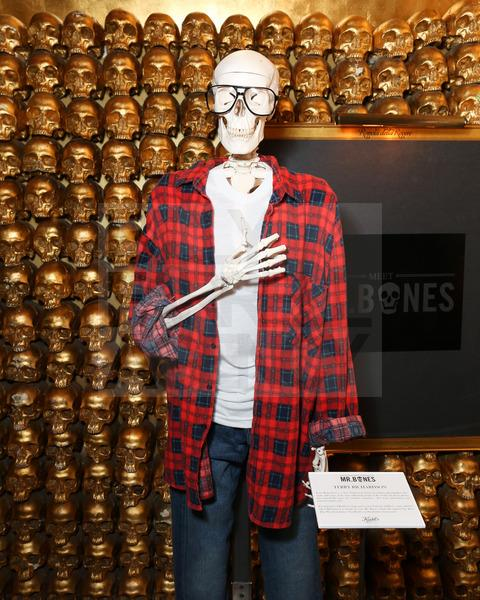 Kiehl's Mr. Bones customized skeletons by Terry Richardson