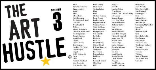 Art Hustle Series 3 roster