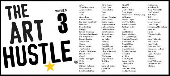 Art Hustle Series 3 roster