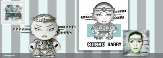 Munny Legends Series 1 by Stor Dubiné: Deborah Harry!